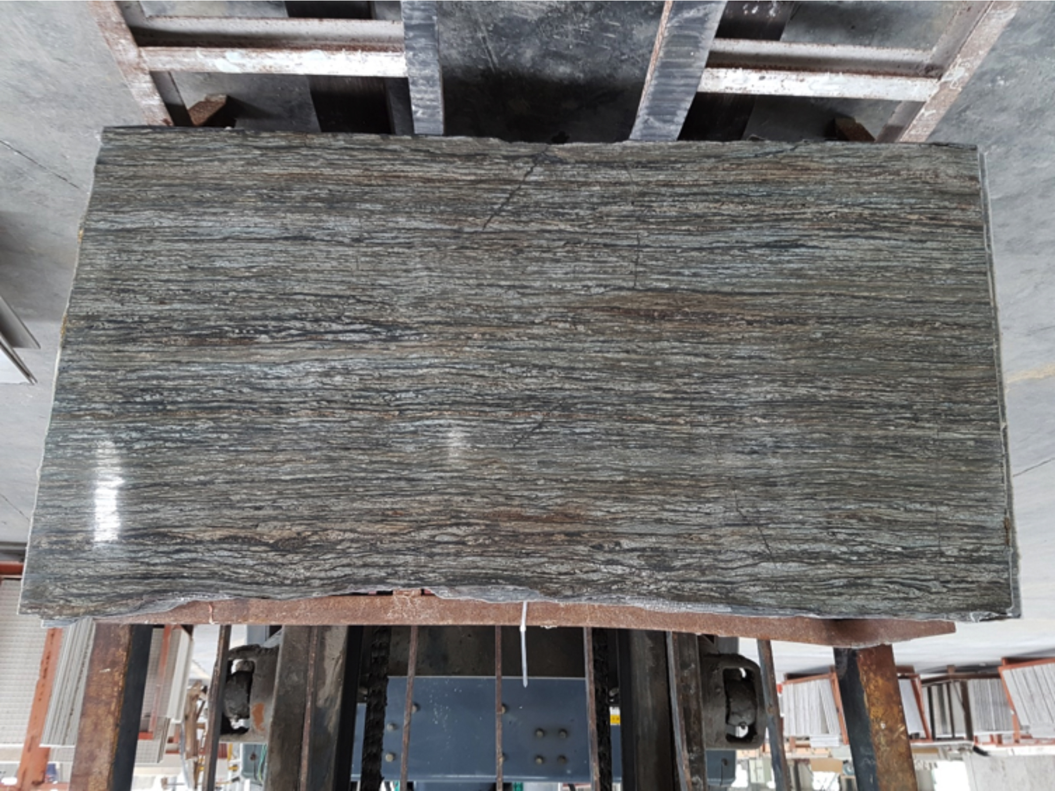 New Zealand Stone Products: vein cut